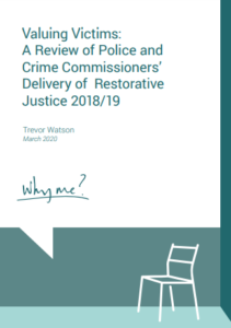 Valuing Victims report 2020