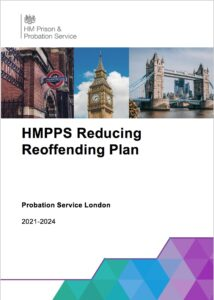 Cover of London Reducing Reoffending Plan